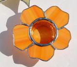 Teelicht Blume rund
