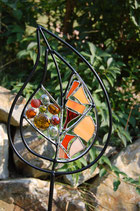 Gartenstecker Blatt