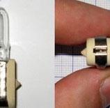 Лампа галогенная (галогеновая) КГСМ 27-85 кварцевая самолетная