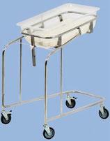 Кровать-тележка для новорожденных КТН-01-МСК (код МСК-5130)