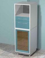 Медицинский металлический шкаф DM-М38С