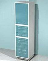 Медицинский металлический шкаф DM-77