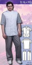 Костюм медицинский мужской В-12 + Н-1