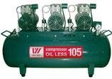 Безмасляный компрессор OIL LESS 105 (W-606)