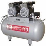 Безмасляный компрессор OIL LESS 110 (W-608)
