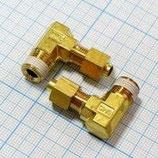 Соединение угловое резьбовое 4R1/8 KFL04B-01S для ГК-100-3