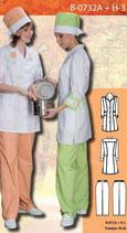 Костюм медицинский женский В-0732А + Н-3