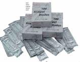 Лезвия для скальпеля стерильные рис. 10, уп.100 штук, AD 075/10