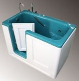 Сидячая ванна Комфорт с боковой дверью