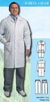 Халат медицинский мужской X-0615 + Н-14