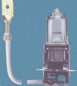 Лампа галогенная (галогеновая) Osram 64151 12V 55W PK22s автомобильная