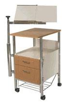 Тумбочка со столиком TE-PA Medical 6310