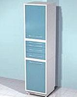 Медицинский металлический шкаф DM-76C