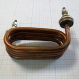 ТЭН 125.06.001 (2,4 кВт, медь, вода) для дистиллятора АЭ-10 (с нояб. 2008 г.)