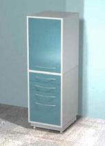Медицинский металлический шкаф DM-72