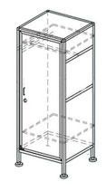 Шкаф для одежды ШКО-1