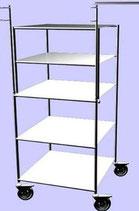Стол-стойка для мед. приборов ССпа-01