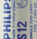 Стартер Philips S12 80-140W 220-240V UNP/20X25BOX