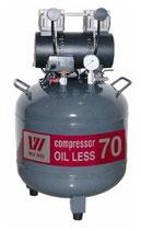 Безмасляный компрессор OIL LESS 70 (W-603)