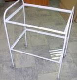 Стол инструментальный СИП-2С с 2-мя стеклянными полками