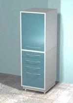 Медицинский металлический шкаф DM-72C