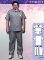 Костюм медицинский мужской В-0435 + Н-1