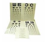 Таблицы для определения остроты зрения