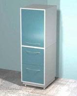 Медицинский металлический шкаф DM-74C