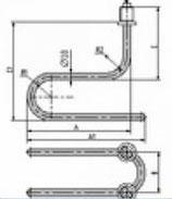 ТЭН 784 681817.002 (2,5кВт, 220В, н/сталь, вода)