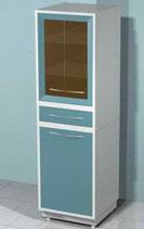 Медицинский металлический шкаф DM-63