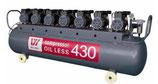 Безмасляный компрессор OIL LESS 430 (W-620)