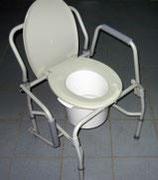 Кресло-туалет с откидными ручками AMCF97