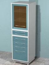 Медицинский металлический шкаф DM-69C