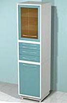 Медицинский металлический шкаф DM-86