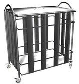Столик-тележка для хозяйственных нужд СИ-2-01 (ХН)