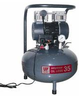 Безмасляный компрессор OIL LESS 35 (W-602)
