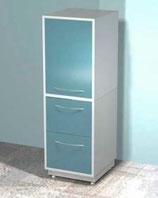 Медицинский металлический шкаф DM-74