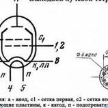 Радиолампа электровакуумная пентод 6П44С