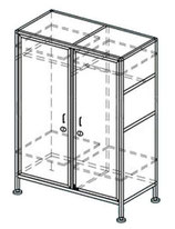 Шкаф для одежды ШКО-2