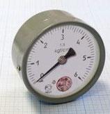 Манометр МПЗ-У-6 кгс/см2х1,5 показывающий
