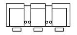 HCM Sierra II 566700 + 2x56W200 + 566000 + 566600