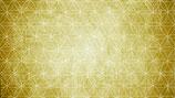 Lebensblumenstrauß gold, Querformat