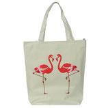 Baumwolltasche Flamingo