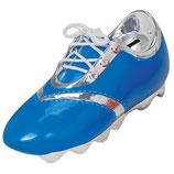 Fussballschuh blau