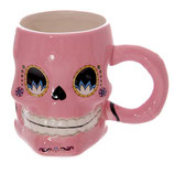 Totenkopf rosa