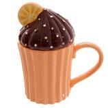 Cupcake Schoko mit Orange