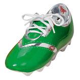 Fussballschuh grün
