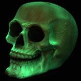 Totenkopf leuchtend