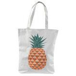 Baumwolltasche Ananas