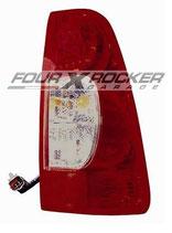 FANALE STOP POSTERIORE DX / SX BIANCO - ROSSO (FONDO FUME') ISUZU D-MAX dal '07